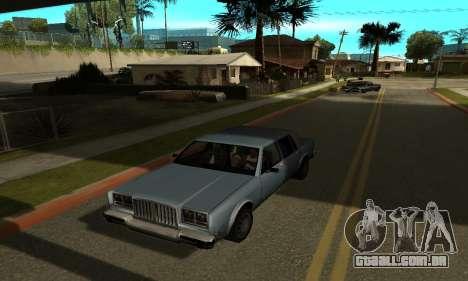 Sombras no estilo de RAIVA para GTA San Andreas