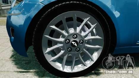 Hyundai Genesis V6 Sedan para GTA 4 vista direita