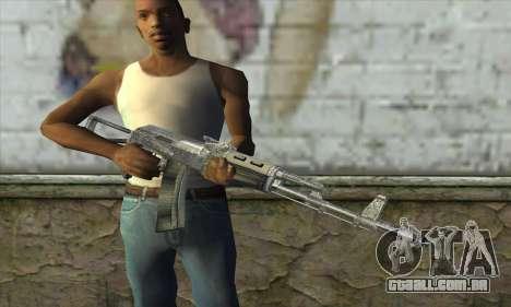 AK47 из S.T.A.L.K.E.R. para GTA San Andreas terceira tela