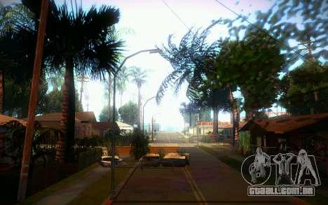 New Grove Street para GTA San Andreas sexta tela