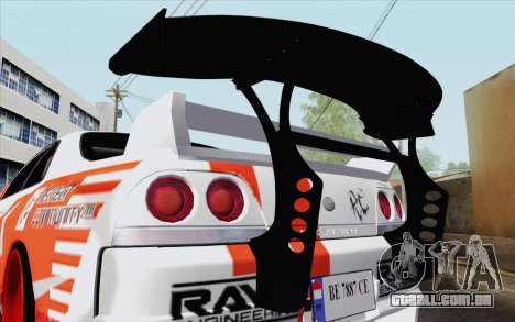 Nissan Skyline GT-R32 para GTA San Andreas vista direita