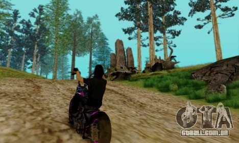 Glenn Danzig Skin para GTA San Andreas sétima tela