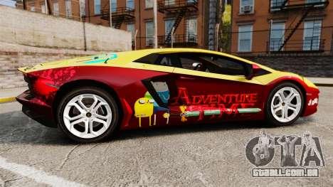 Lamborghini Aventador LP700-4 2012 [EPM] Jake para GTA 4 esquerda vista