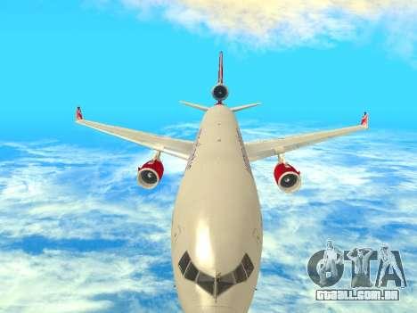 McDonnell Douglas MD-11 para GTA San Andreas vista interior