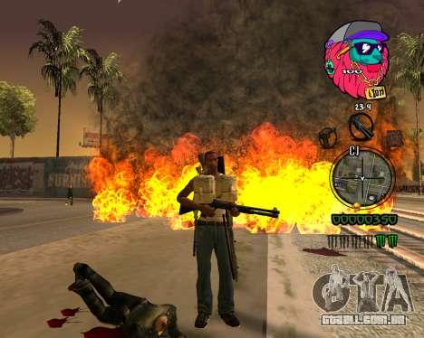 C-HUD Lion para GTA San Andreas terceira tela