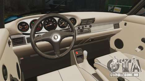 Porsche Carrera RS 1995 para GTA 4 vista interior