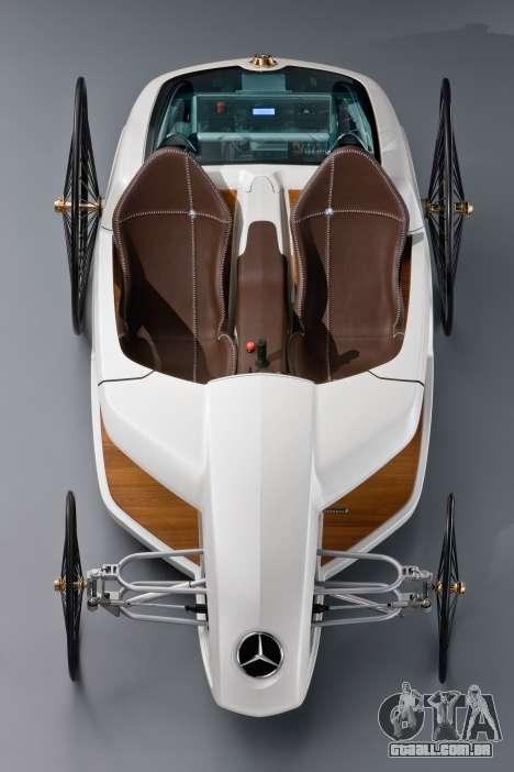 Arranque telas Mercedes-Benz F-CELL Roadster para GTA 4 oitavo tela
