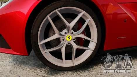 Ferrari F12 Berlinetta 2013 [EPM] Black bars para GTA 4 vista de volta