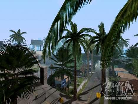 New Grove Street v3.0 para GTA San Andreas quinto tela