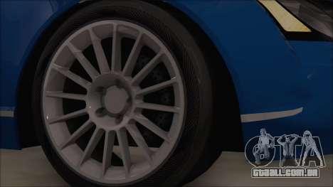 Maybach 57 TT Black Revel para GTA San Andreas traseira esquerda vista