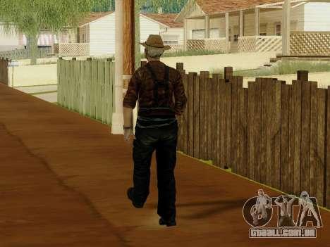 Agricultor ou alterada e completada para GTA San Andreas nono tela