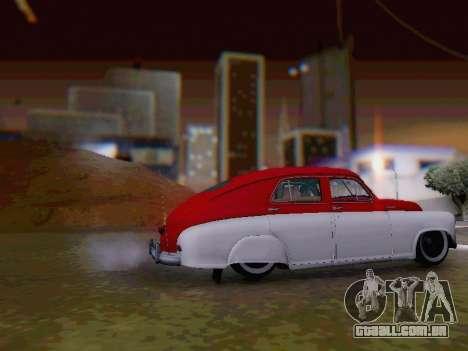 O GÁS M-20 Pobeda para GTA San Andreas esquerda vista