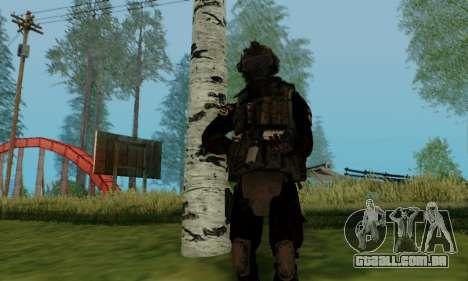 Kopassus Skin 2 para GTA San Andreas sexta tela