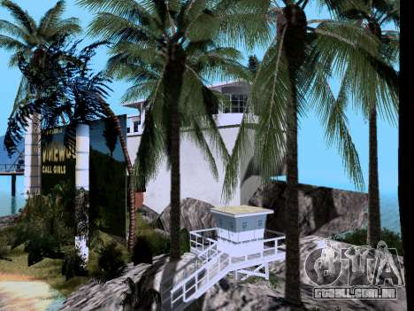 Nova ilha V2.0 para GTA San Andreas sétima tela
