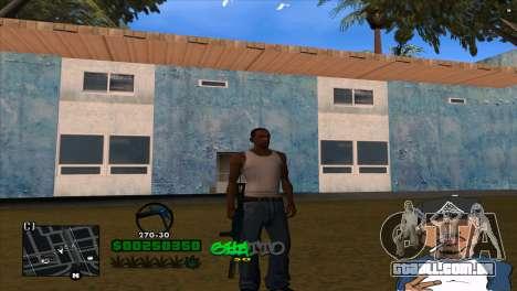 C-HUD By Markus para GTA San Andreas