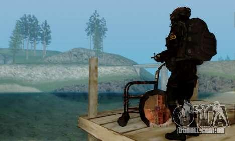 Kopassus Skin 2 para GTA San Andreas oitavo tela