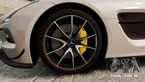 Mercedes-Benz SLS 2014 AMG Driving Academy v1.0 para GTA 4 vista de volta