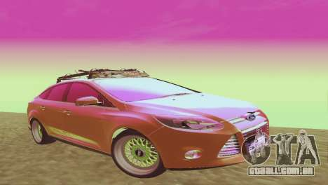 Ford Focus Sedan Hellaflush para GTA San Andreas