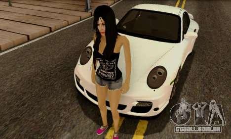 Jack Daniels Girl Skin para GTA San Andreas segunda tela