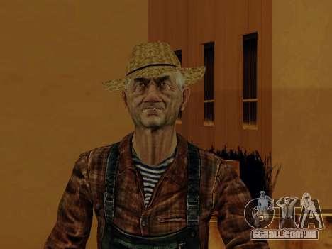 Agricultor ou alterada e completada para GTA San Andreas sexta tela
