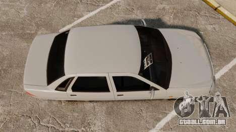 ВАЗ-Lada 2170 Priora v2.0 para GTA 4 vista direita