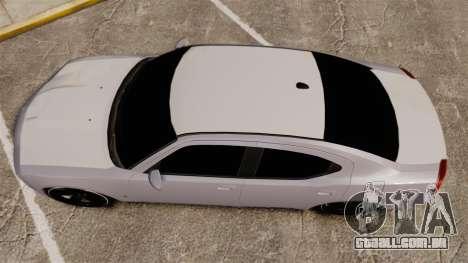 Dodge Charger SRT8 2007 para GTA 4 vista direita