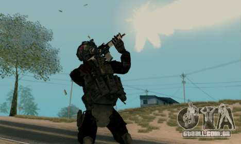 Kopassus Skin 2 para GTA San Andreas segunda tela