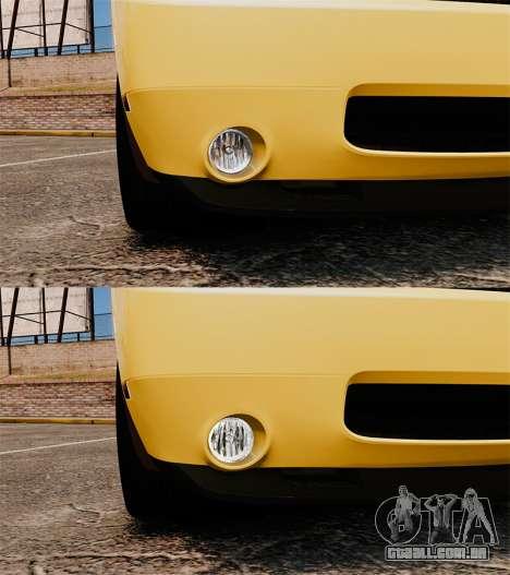 Dodge Challenger SRT8 2009 [EPM] APB Reloaded para GTA 4 vista inferior