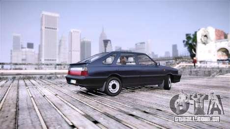 Daewoo FSO Polonez Caro Impo para GTA 4 traseira esquerda vista