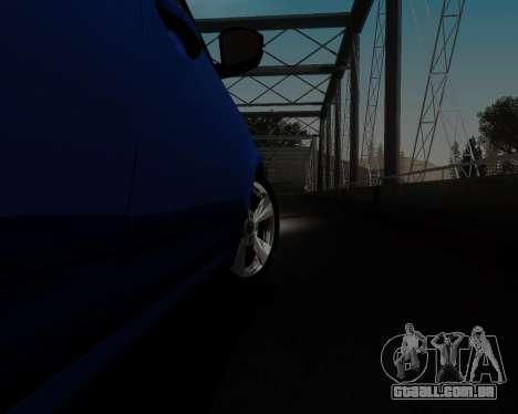 Skoda Octavia A7 para GTA San Andreas vista superior