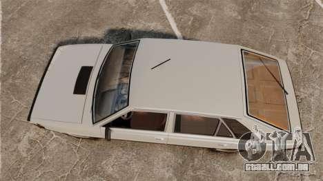 FSO Polonez 1500 para GTA 4 vista direita