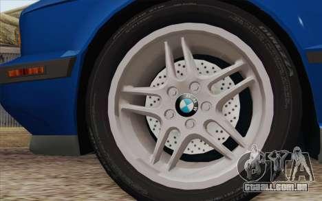 BMW M5 E34 1994 NA-spec para GTA San Andreas traseira esquerda vista