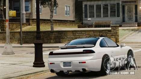Dodge Stealth Turbo RT 1996 para GTA 4 esquerda vista