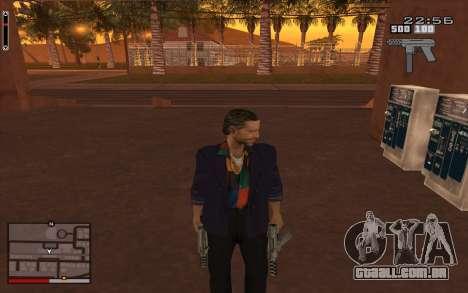 C-HUD GTA 5 para GTA San Andreas terceira tela