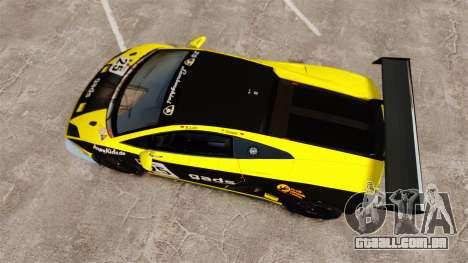 Lamborghini Gallardo LP560-4 GT3 2010 Gads para GTA 4 vista direita