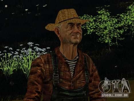 Agricultor ou alterada e completada para GTA San Andreas segunda tela