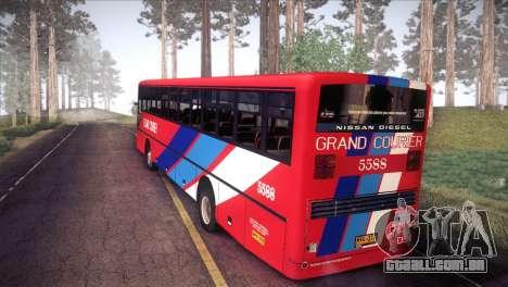 Grand Courier 5588 para GTA San Andreas esquerda vista