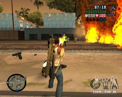 C-HUD Vice Sity para GTA San Andreas segunda tela