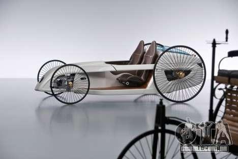 Arranque telas Mercedes-Benz F-CELL Roadster para GTA 4 segundo screenshot