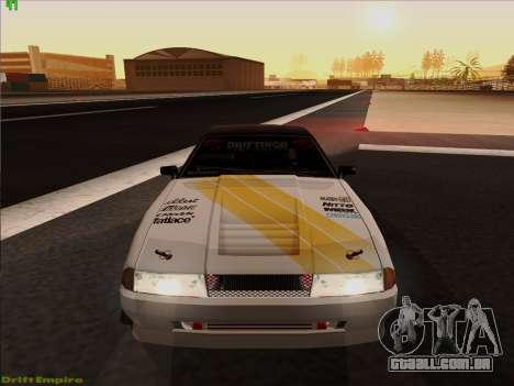 Vinis para Elegia para GTA San Andreas vista direita