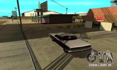 Sombras no estilo de RAIVA para GTA San Andreas por diante tela