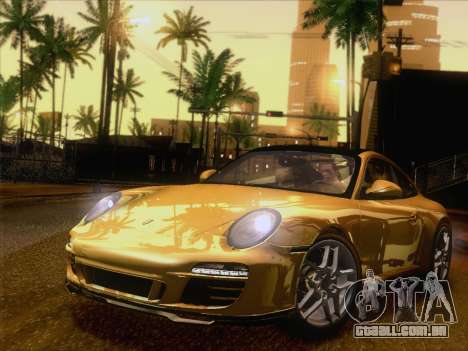 Porsche 911 Targa 4S para GTA San Andreas esquerda vista