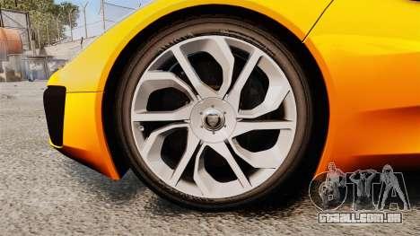 Jaguar C-X75 [EPM] para GTA 4 vista de volta