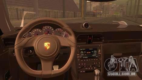 Porsche 911 Carrera GTS 2011 para GTA San Andreas vista direita