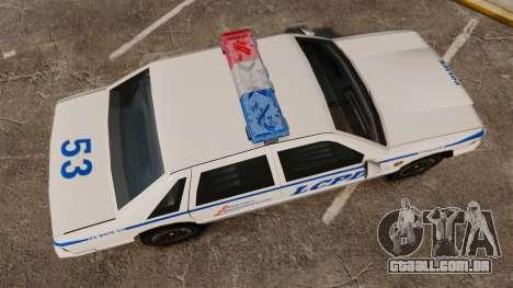 GTA SA Police Cruiser LCPD [ELS] para GTA 4 vista direita