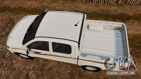 Toyota Hilux 2014 para GTA 4 vista direita