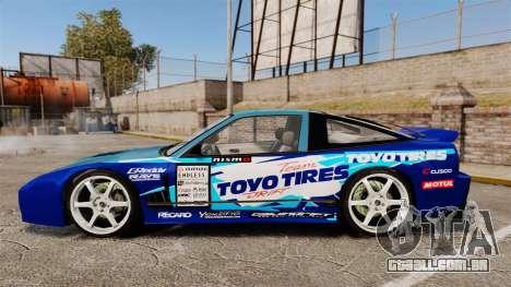 Mazda RX-7 Kawabata Toyo para GTA 4 esquerda vista