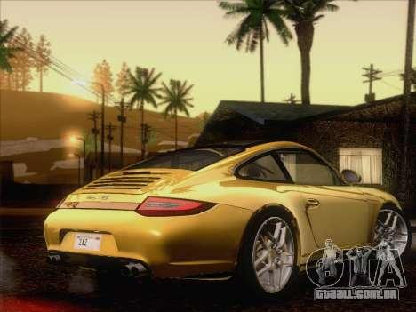 Porsche 911 Targa 4S para GTA San Andreas vista direita