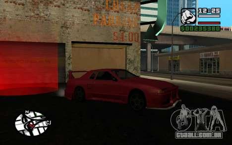Tuning Mod 0.9 para GTA San Andreas quinto tela