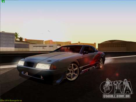 Vinis para Elegia para GTA San Andreas vista inferior